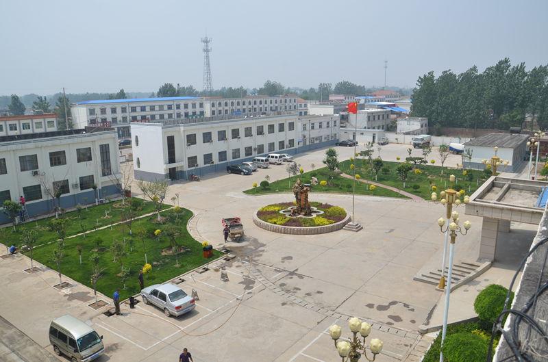 濮城镇镇院绿化新景