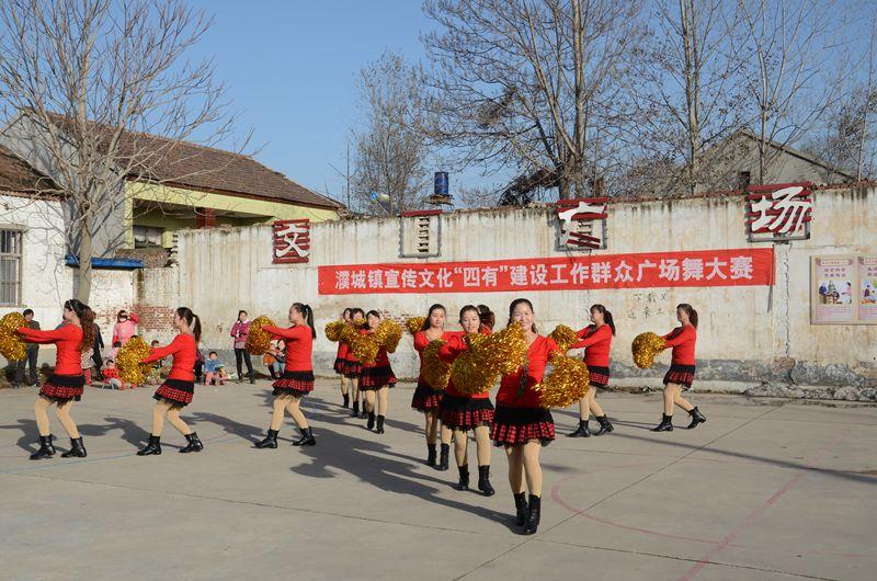 濮城镇成功举办第二届广场舞大赛