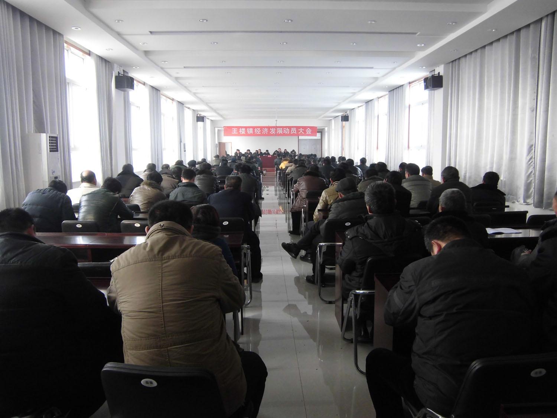 王楼镇召开经济发展动员大会