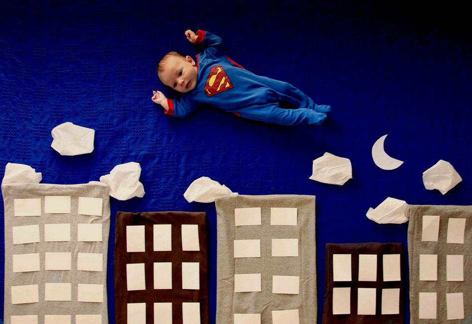 宝宝拍照造型_摄影师创意造型拍宝宝的奇幻旅程--婚纱摄影-范县网